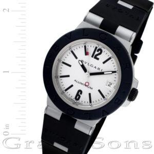 Bvlgari Aluminium AL38 TA aluminum 38mm auto watch