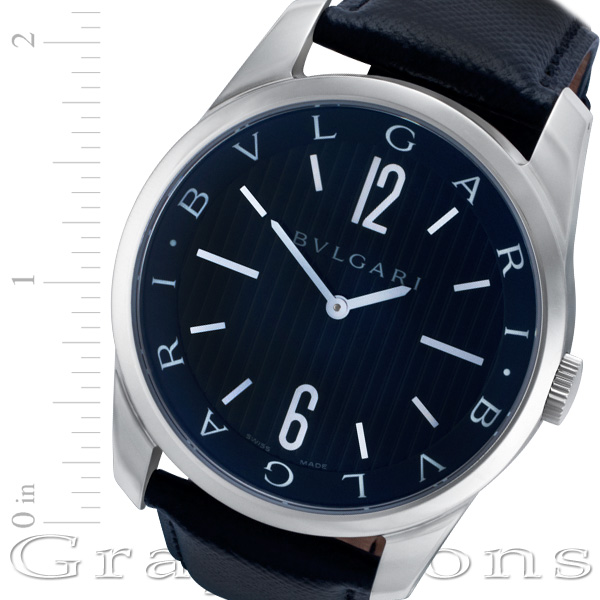 Bvlgari Solotempo st42s stainless steel 42mm Quartz watch