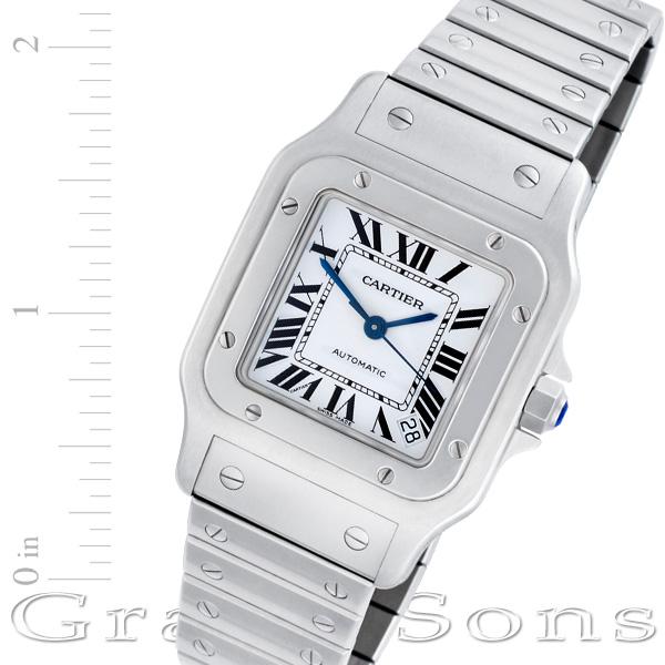 Cartier Santos W20098D6 stainless steel 34mm auto watch