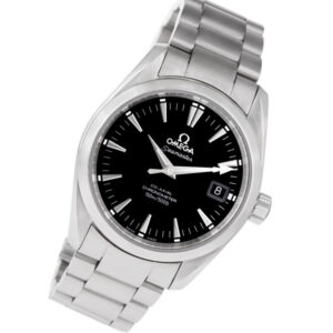 Omega Seamaster Co-Axial stainless steel 36mm auto watch
