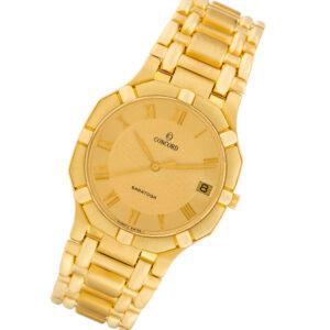 Concord Saratoga 50.58.239 18k 36mm Quartz watch