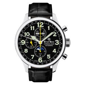 Ernst Benz Chronolunar  10311 stainless steel 47mm auto watch