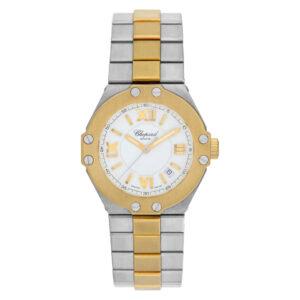 Chopard St. Moritz 25/8321 18k & steel 30mm Quartz watch