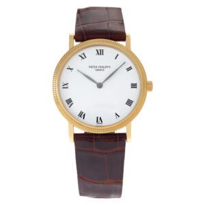 Patek Philippe Calatrava 3992 18k White dial 33mm Automatic watch