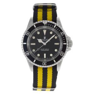 Rolex Submariner 5513 stainless steel 40mm auto watch