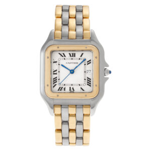 Cartier Panthere xxx Stainless Steel Ivory dial 29.5mm Quartz watch