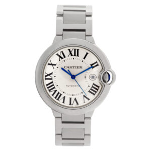Cartier Ballon Bleu W69012z4 stainless steel 42mm auto watch
