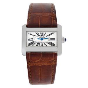 Cartier Divan W6300255 stainless steel 31mm Quartz watch