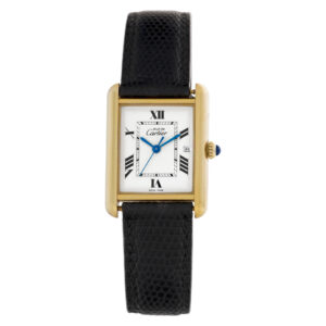 Cartier Tank Vermeil 067735PL vermeil 25mm Quartz watch